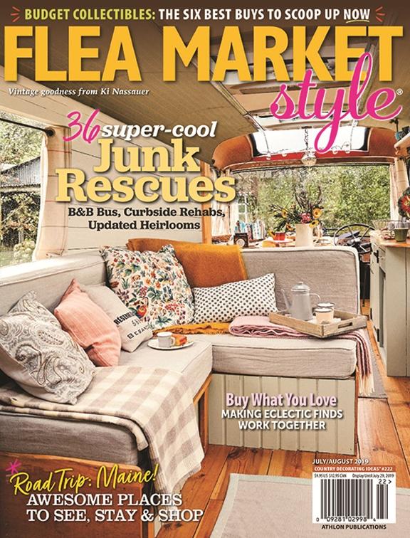Astonishing Flea Market Style Jul Aug 2019 222 Home Interior And Landscaping Oversignezvosmurscom