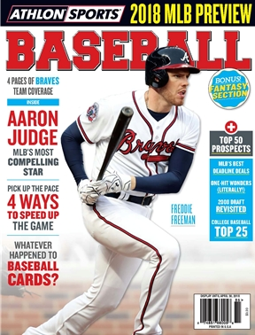 Athlon Sports - Baseball 2018 - Atlanta Braves