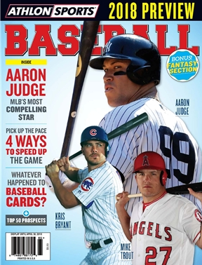 Athlon Sports - Baseball 2018 - National (Cubs/Angels/Yankees)
