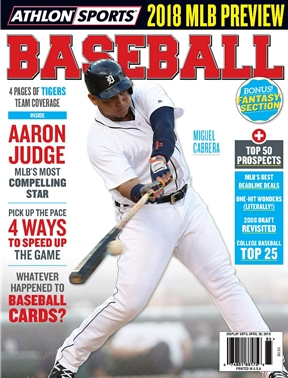 Athlon Sports - Baseball 2018 - Detroit Tigers
