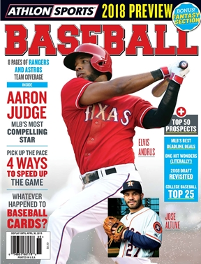 Athlon Sports - Baseball 2018 - Texas Rangers