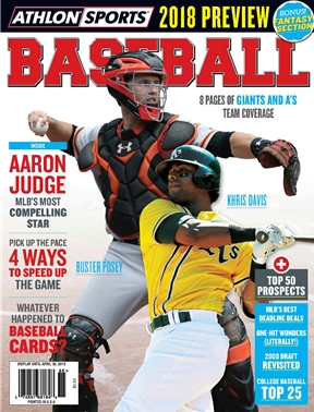 Athlon Sports - Baseball 2018 - San Francisco Giants/Oakland A's